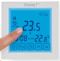 obrázok termostat dotykový displej 7